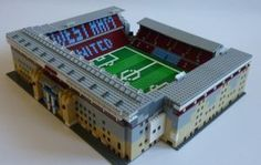 Fantastic Individual Builds Football Stadiums out of Lego West Ham United Fc, Football Stadiums, Brick, Park, Building, Legos, Fields, Note Cards, Lego