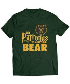"""My Patronus Is A Bear"" t-shirt // #SicEm"