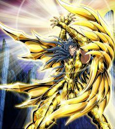 Gold Saint Gemini Saga (Soul of Gold)  By KATA