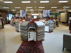 As Michigan's Largest Karastan Carpet Center, Karastan carpet can be found right when you walk into our showroom. #riemerfloors, #carpet, #karastan, #sales