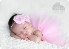 my lil girl's newborn picture outfit :)