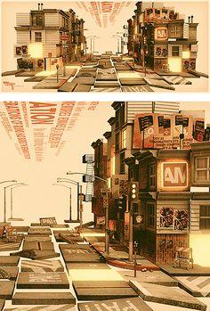 Urban Cartography by Alex Varanese