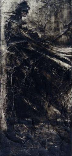 The Dark knight by Greg Lauren...