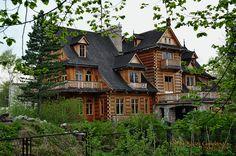 Zakopane - budynki drewniane