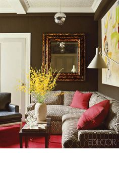 Decorating your home with mirrors is an easy way to reflect the beauty of each room.