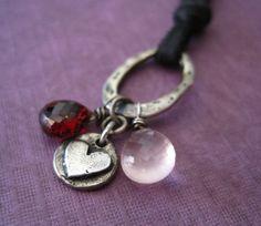Citrine Earrings Fine Silver Gemstone Nugget Dangle by loriyab