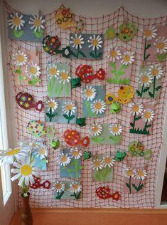 Spring Crafts For Kids, Summer Crafts, Art For Kids, Home Crafts, Diy And Crafts, Arts And Crafts, Paper Crafts, Flower Activities For Kids, Babysitting Fun