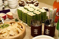Super Bowl Party - Decoration Ideas