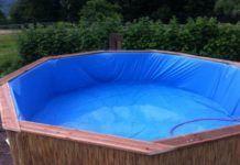Móveis de paletes: faça uma piscina por R$300