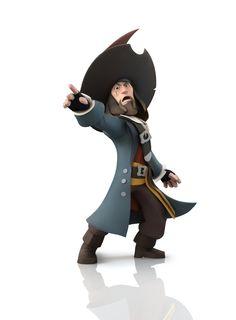 Barbossa de #PiratesdesCaraibes à incarner dans #DisneyInfinity !