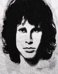 Jim  Morrison -The Lizard King by mrxtasy.deviantart.com on @deviantART