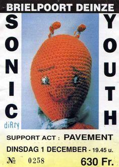 Sonic Youth @ Brielpoort Deinze (1 december 1992)