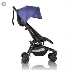 Baby Equipment Rental - Mountain buggy Nano Travel Stroller / Pram Blue - For Hire Perth Travel Buggy, Baby Must Haves, Double Strollers, Baby Strollers, Pram Stroller, Best Travel Stroller, Baby Shooting, Mountain Buggy, Bebe