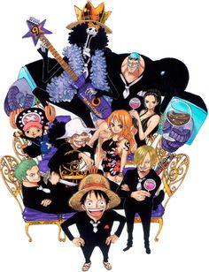 Eiichiro Oda. One Piece