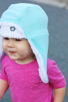 70a51ed66e6 Trapper Hat pattern by See Kate Sew sewn by Sew Much Ado Fleece Hat Pattern