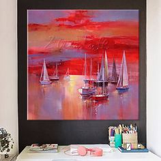 Cheap picture for living room, Buy Quality wall pictures directly from China hand painted Suppliers: Hand painted boat Canvas Oil painting Wall Pictures for Living room wall decor art canvas painting palette knife boat 45 Boat Painting, Oil Painting On Canvas, Living Room Pictures, Wall Pictures, Canvas Frame, Canvas Art, Cheap Paintings, Room Wall Decor, Picture Wall