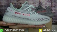 """Adidas Yeezy Boost 350 Sply V2 """"Blue Tint"""" Comparison with Beluga 2.0"""