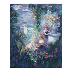 I pinned this Le Jardin de la Musique II Art Print from the Style Study event at Joss & Main!