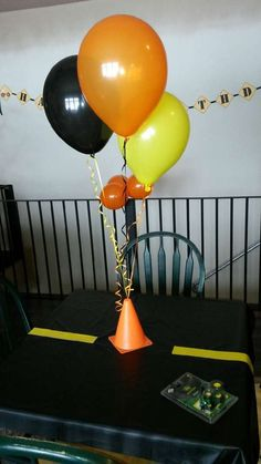 Construction Birthday Party Ideas Photo 6 of 51 2nd Birthday Party Themes, Second Birthday Ideas, Third Birthday, First Birthday Parties, 3 Year Old Birthday Party Boy, Birthday Club, Retirement Parties, Baby Birthday, Fete Laurent