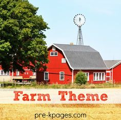 Pre-K and preschool theme activities for learning about the farm and farm animals. Literacy, math, printables book lists and more! Farm Books Farm Literacy Activities Moo! Alphabet Game Both the up...
