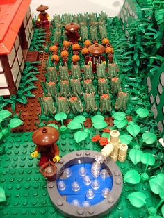 The peasants tend to the garden by the side of the dojo.    Still a work-in-progress as described in  Classic-Castle and Eurobricks.     http://www.timemart.vn/  http://www.timemart.vn/305/p/322093/may-giat.html  http://www.timemart.vn/305/pr/337018/XPB20-1801/may-giat-mini-little-duck-xpb20-1801.html