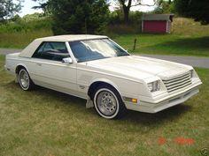 First car 1983 Dodge Mirada