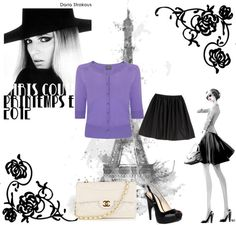 Love Purple, created by luvrunnin on Polyvore