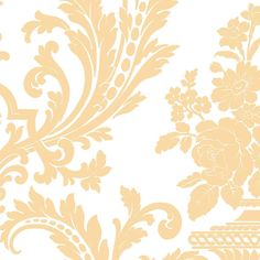 Interior Place - Tan DS29700 Large Scale Insignia Wallpaper, $15.99 (http://www.interiorplace.com/tan-ds29700-large-scale-insignia-wallpaper/)