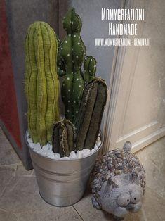Cactus Craft, Cactus Decor, Cacti And Succulents, Cactus Plants, Cactus Fabric, Crochet Cactus, Toy Kitchen, Faux Plants, Craft Items