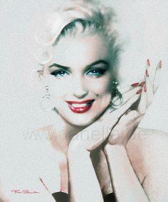 Marilyn in Art by www.fb.com/TheoDanella © Posters/Prints: www.PVZ.net ... and many more.... www.danella.de ____________