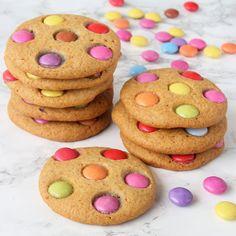 Superläckra, spröda Smartiescookies!