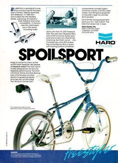 1986 Haro Sport advertisement!