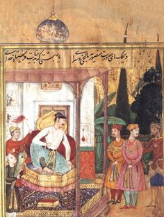 Anvari's Divan  (A pocket book of Akbar)