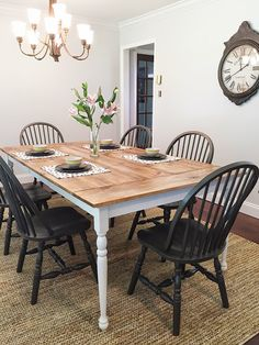 Less-Than-Perfect Life of Bliss: DIY Farmhouse Table