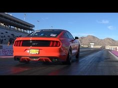 Melissa's Full Weight Hellion Turbo 2015 Mustang Goes 8's!