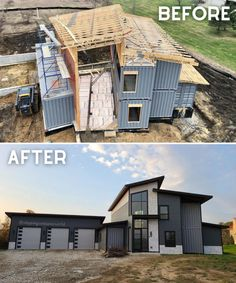 Storage Container Homes, Building A Container Home, Container Cabin, Container Buildings, Container Architecture, Container House Design, Shipping Container Home Designs, Shipping Containers, Casas Containers