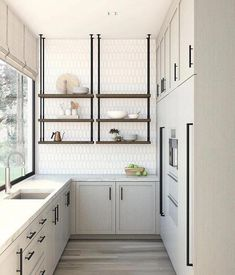 Browse photos of Small kitchen designs. Discover inspiration for your Small kitchen remodel or upgrade with ideas for storage, organization, layout and decor. #smallkitchenbacksplash #smallkitchencabinets #smallkitchendesign #smallkitchenmoderndesign #kitcheninteriordesign