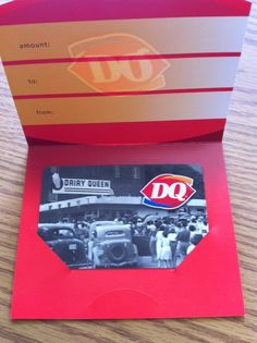 Thanks to the West St. Paul Dairy Queen for this gift card!