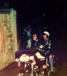 October 4, 1976 at 3.30 a.m. arriving back to Graceland from Vickers Gas Station on Elvis Presley Boulevard in Memphis