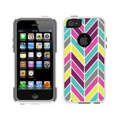 iPhone 5 5S White / Grey Otterbox Commuter Series by Bluxco, $34.99