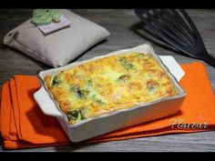 Broccoli gratinat cu branza ‐ flaveur.ro - YouTube Healthy Meals For Kids, Healthy Recipes, Quiche, Broccoli, Appetizers, Keto, Make It Yourself, Cooking, Breakfast