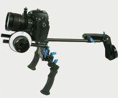 Sony Cyber-Shot DSC-HX9V Vertical Shoe Mount Stabilizer Handle Pro Video Stabilizing Handle Grip for