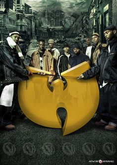 WU TANG CLAN poster https://www.facebook.com/artworkvamvakakis/