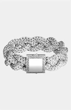 John Hardy 'Classic Chain' Large Braided Bracelet available at #Nordstrom