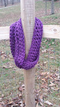 Crochet Chunky Infinity Scarf Cowl  Fall by ShelbysLittleShop