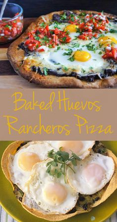 Baked Huevos Rancheros Pizza