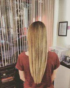 #ombre #blond #fromredtoblonde #longhair