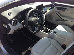 Mercedes Benz Cla250 ash leather interior