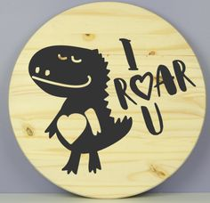 I Roar You Virtual Class, Diy Arts And Crafts, Paint Party, Craft Kits, Bamboo Cutting Board, Wood Signs, Painting, Wooden Plaques, Wooden Signs
