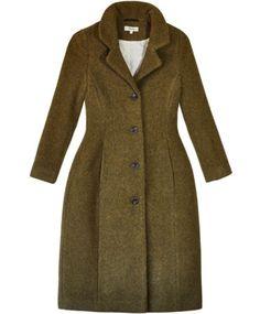 Moss Moreen Coat by Samuji